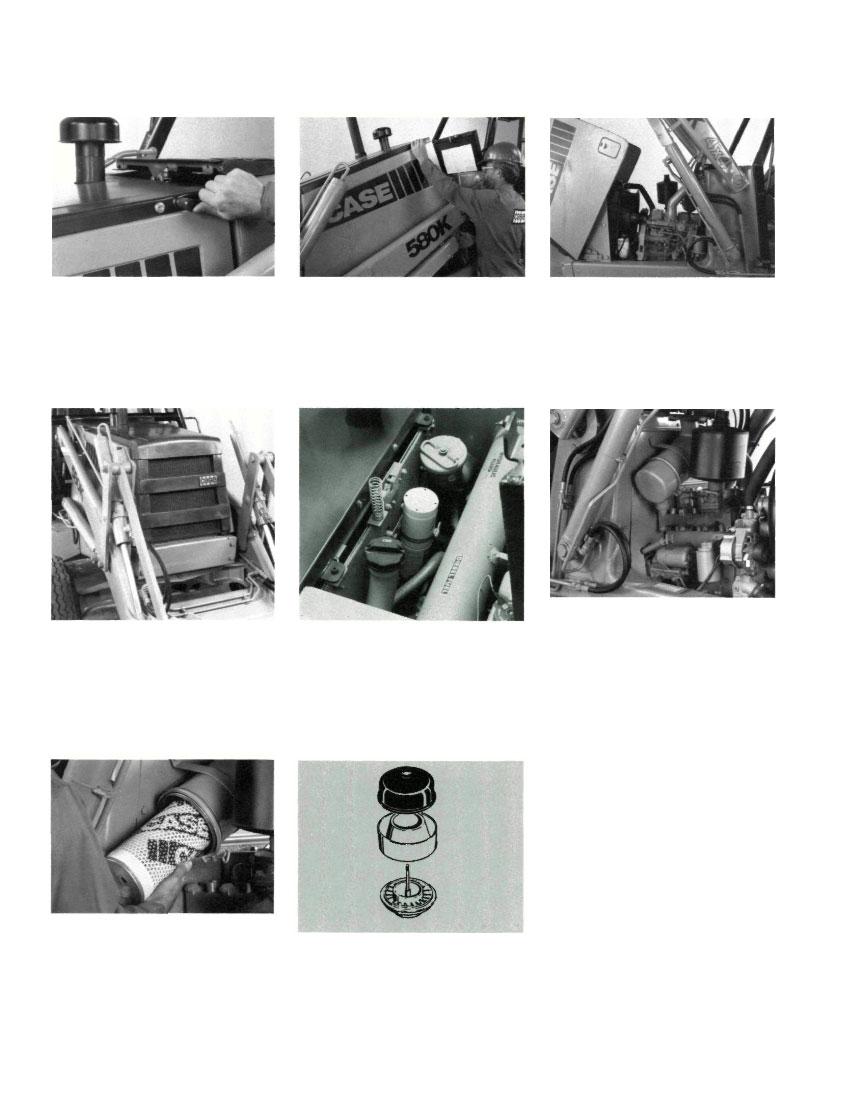 Case 580k Backhoe Ferguson 30 Tractor Wiring Diagram Free Download Improved Engine Cooling