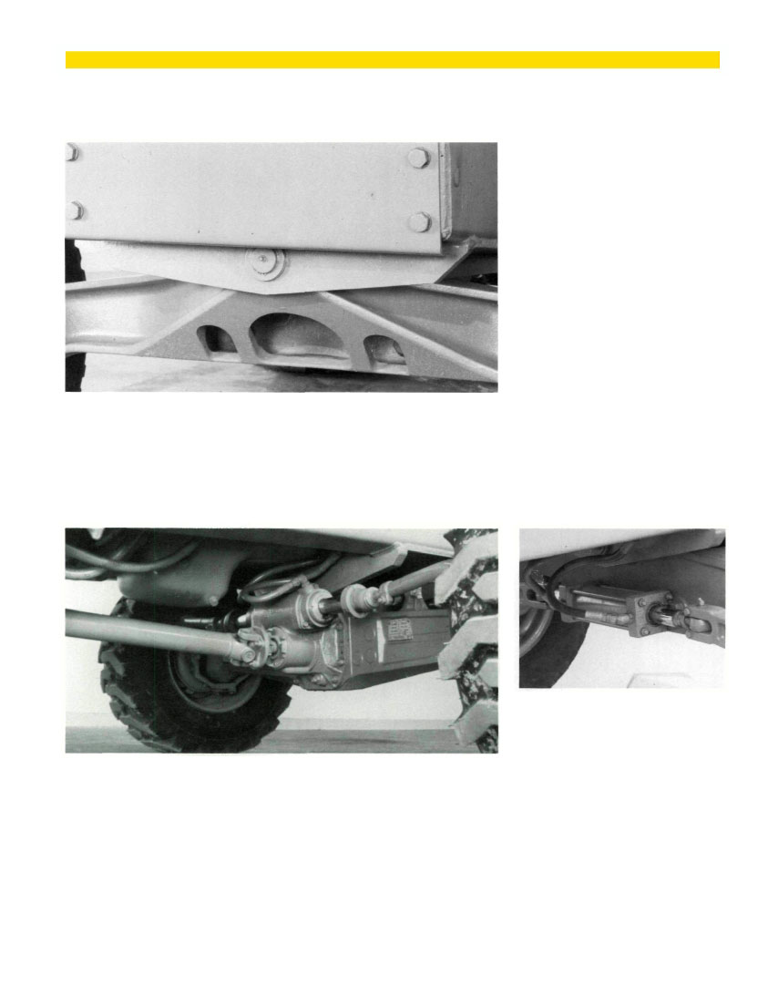 Top Trunnion-Mounted Steering Axle